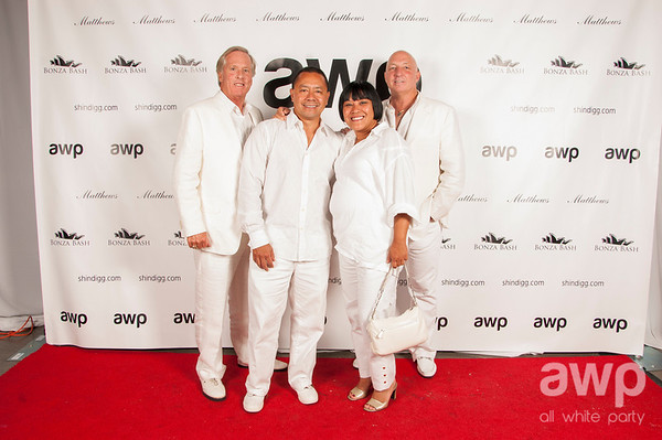 4th Annual All White Party - August 2013